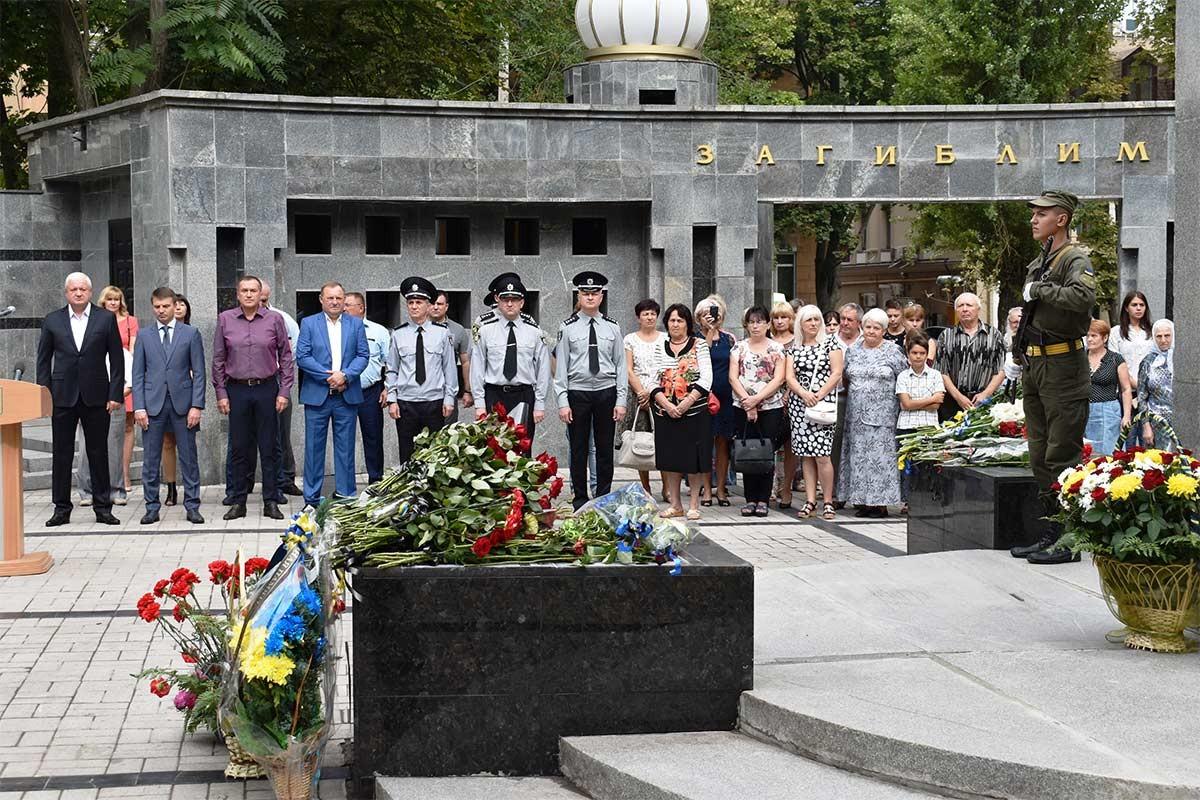 Україна вшановує працівників органів внутрішніх справ