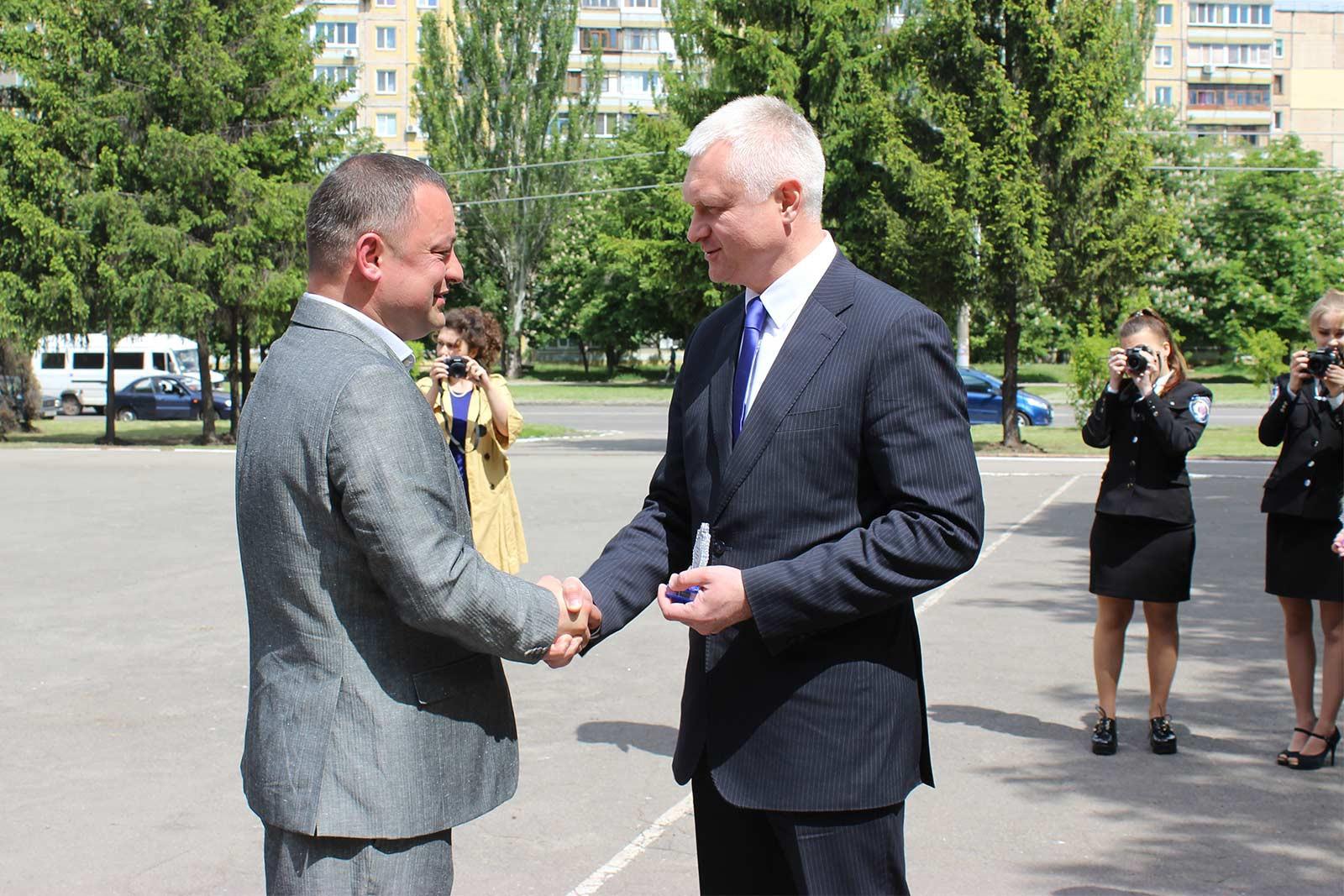 Т.в.о ректора ДДУВС Андрій Фоменко