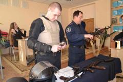 Виставка учбової зброї