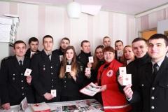 Слухачі магістратури ДДУВС завітали до Товариства Червоного Хреста
