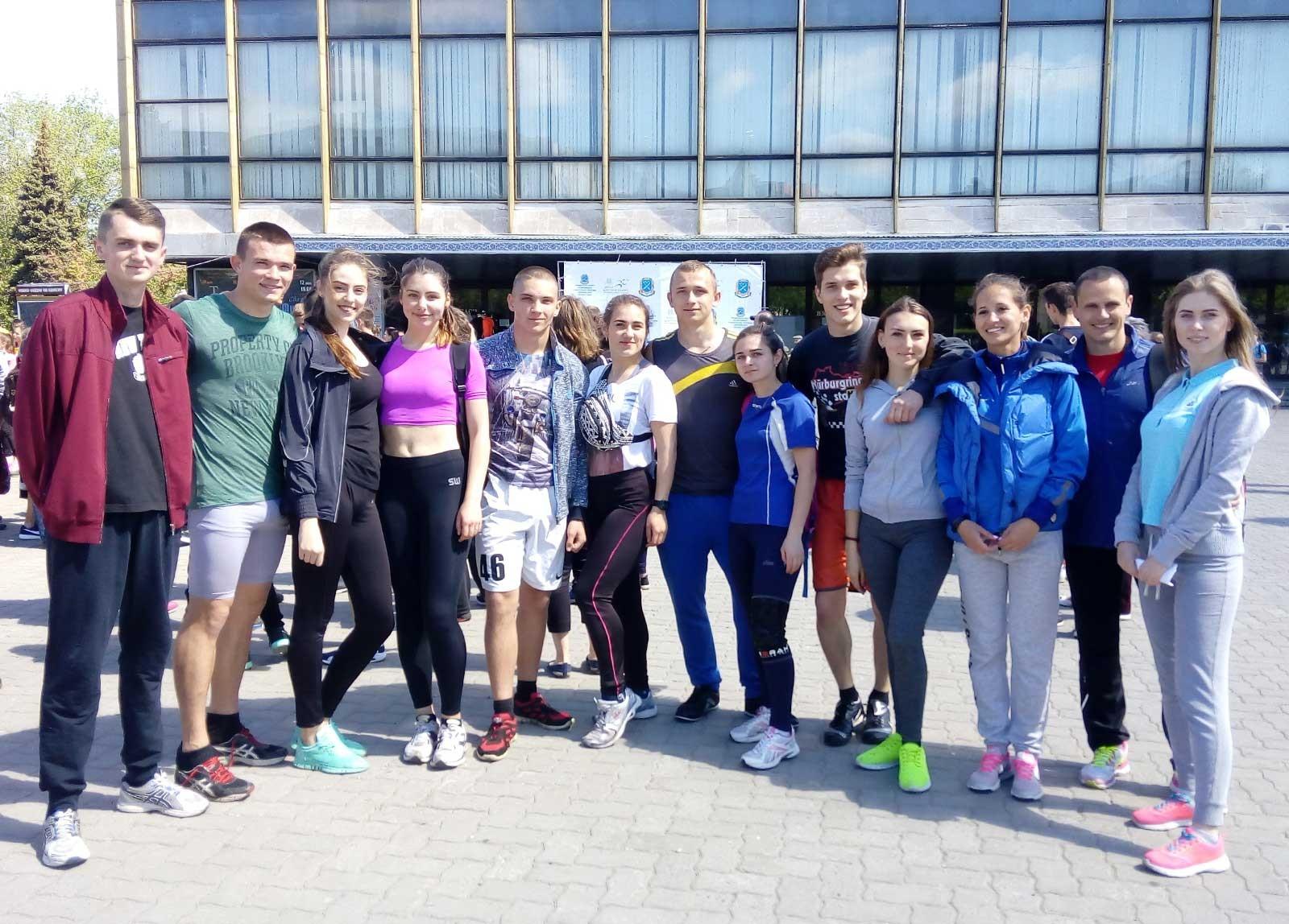 Естафета до Дня пам'яті та примирення: легкоатлети університету в призерах
