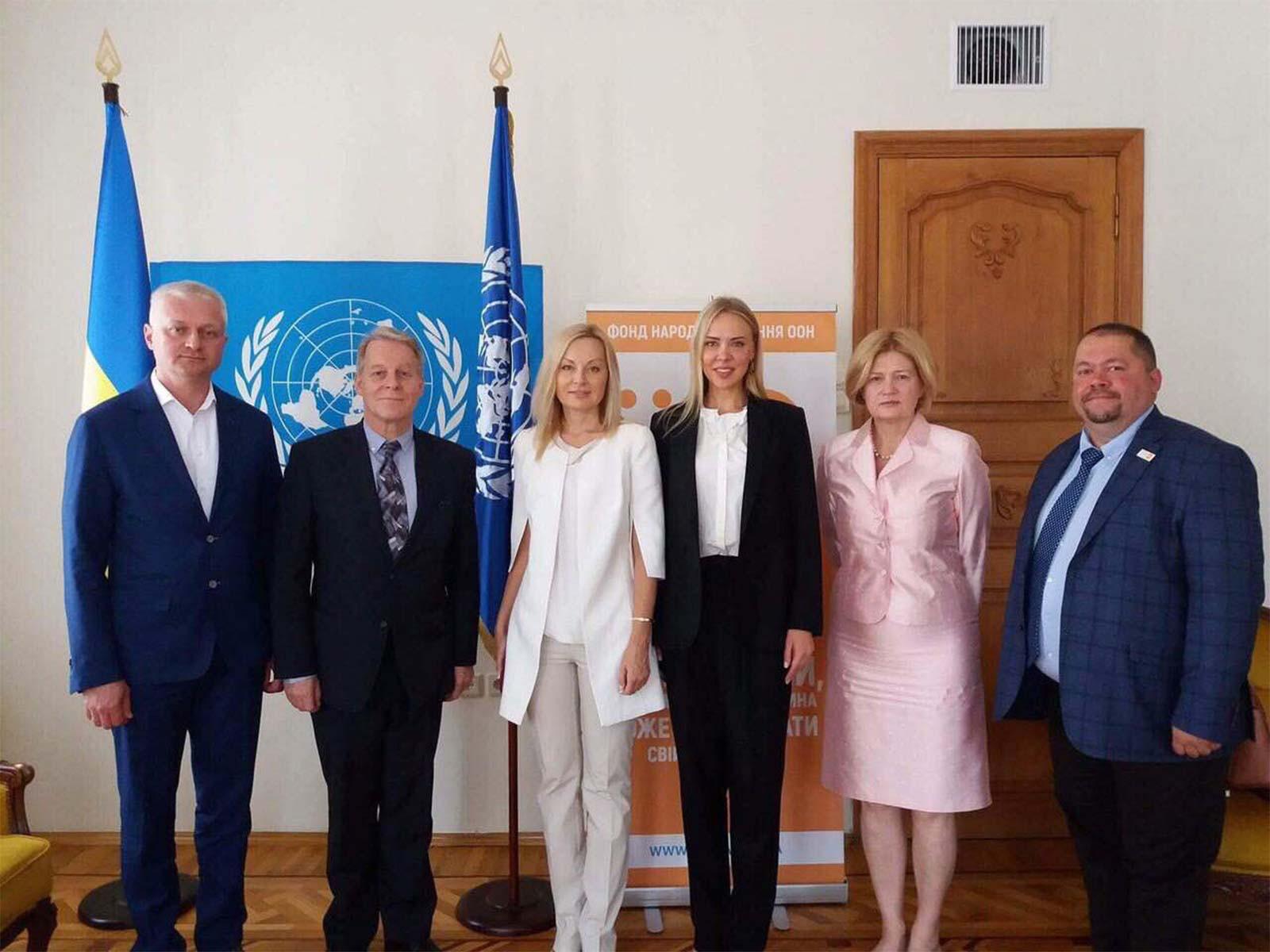 Андрій Фоменко зустрівся з паном Каспером Піком та його заступником Павлом Замостьяном.