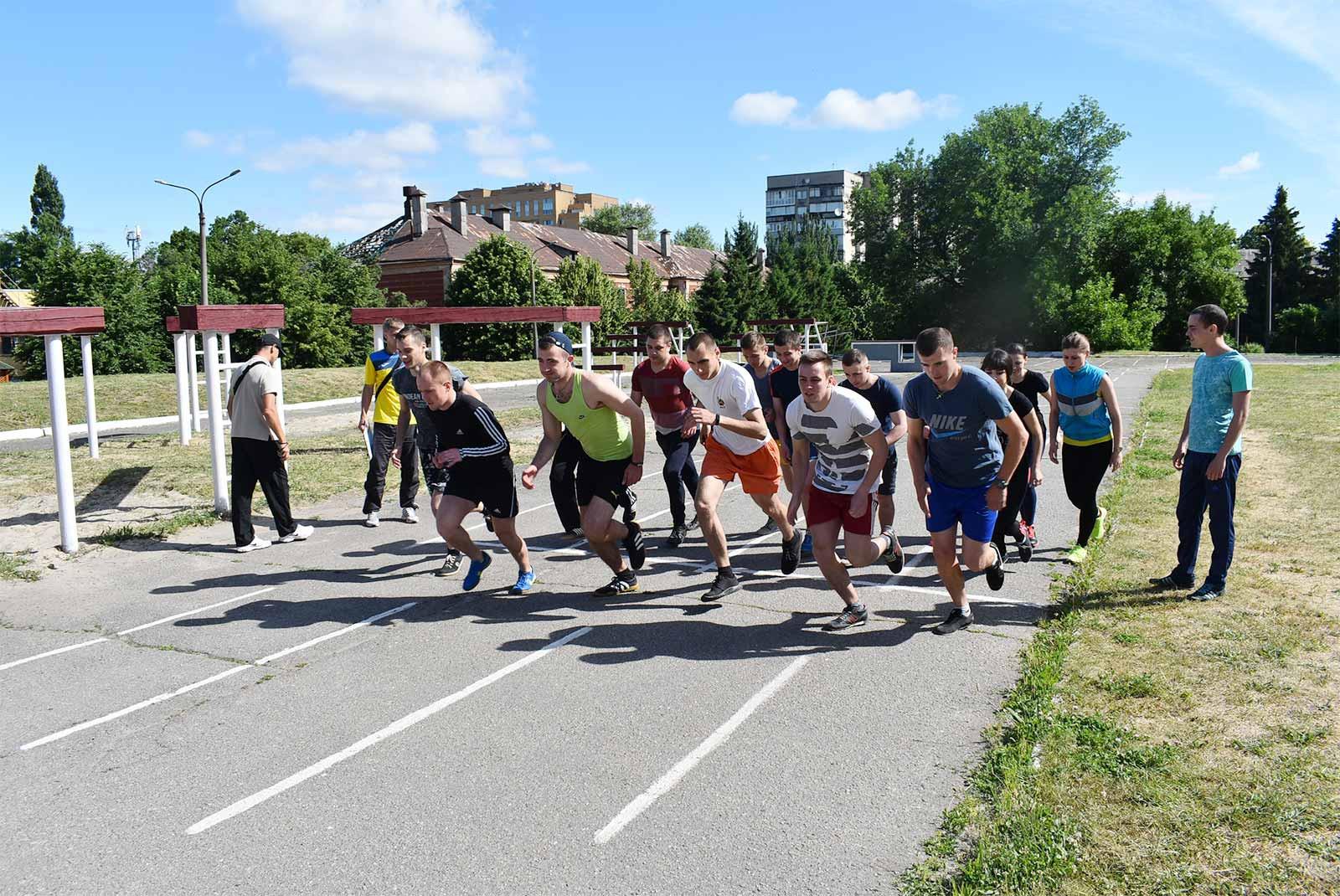 Спортивне свято об'єднало найсильніших та найспритніших курсантів університету