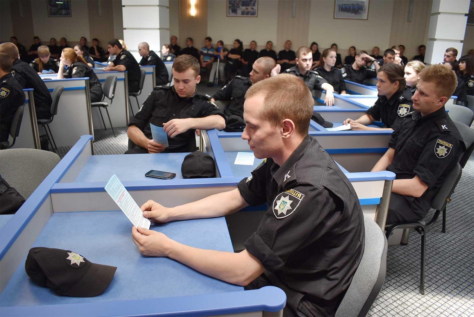 Психологами університету було проведено тренінгові заняття для курсантів усіх курсів