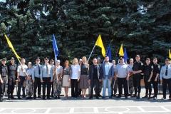 Флешмоб з нагоди відзначення річниці Конституції України