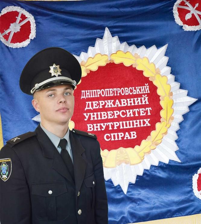 Курсант ДДУВС затримав зловмисника