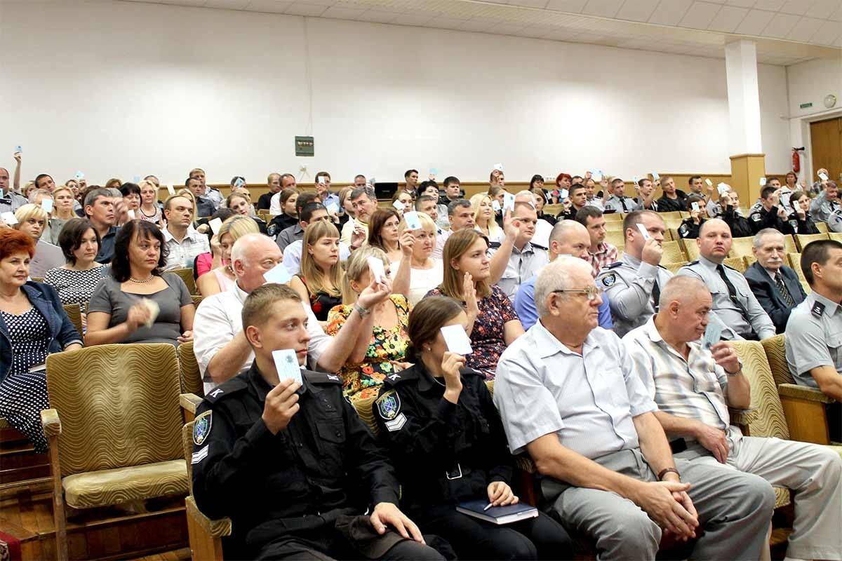 Учасники конференції єдиноголосним рішенням затвердили зміни до Статуту ДДУВС.