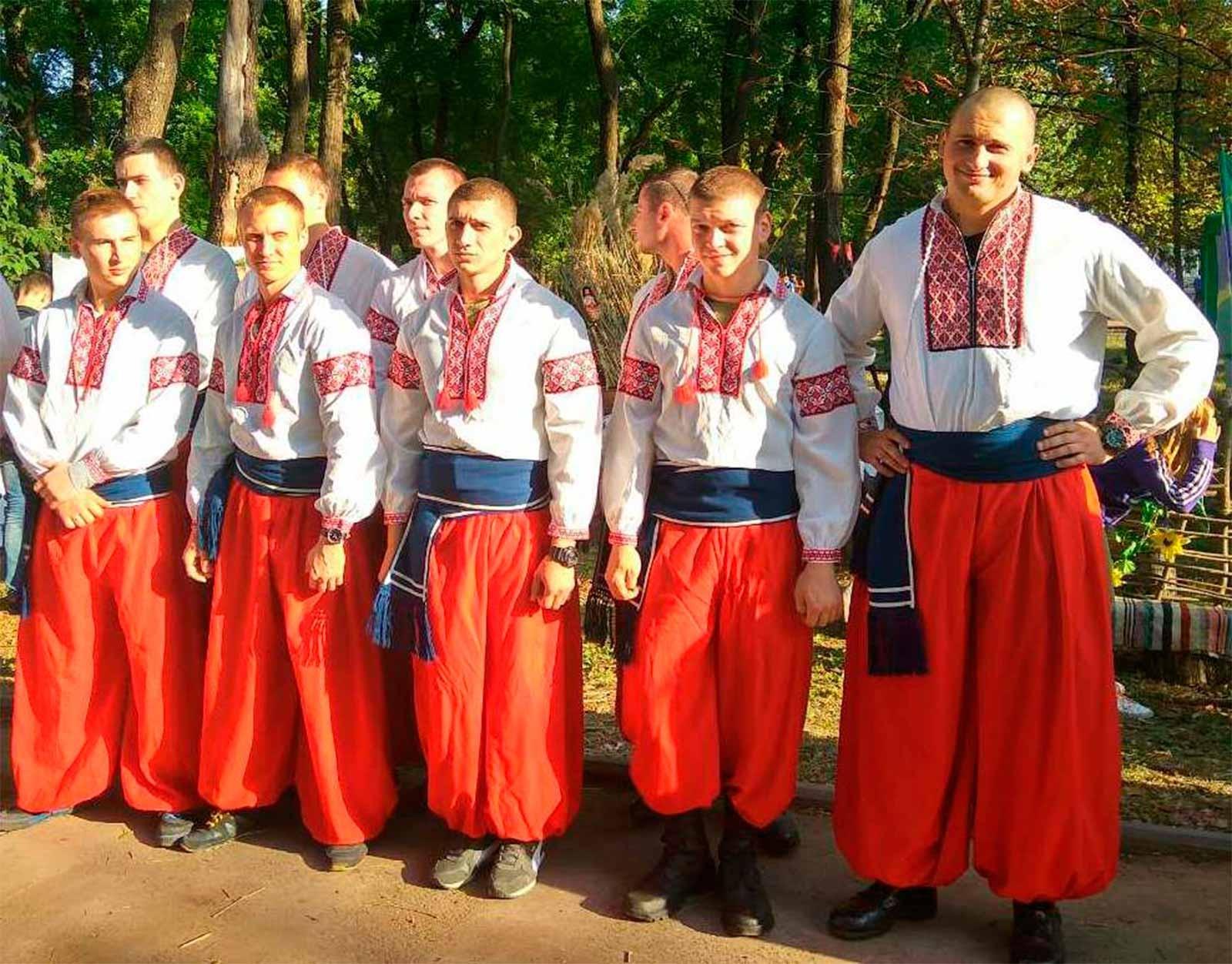 Змагання «Козацькі розваги»