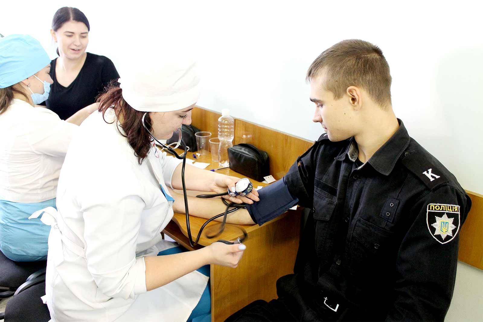 Акція зі збору донорської крові