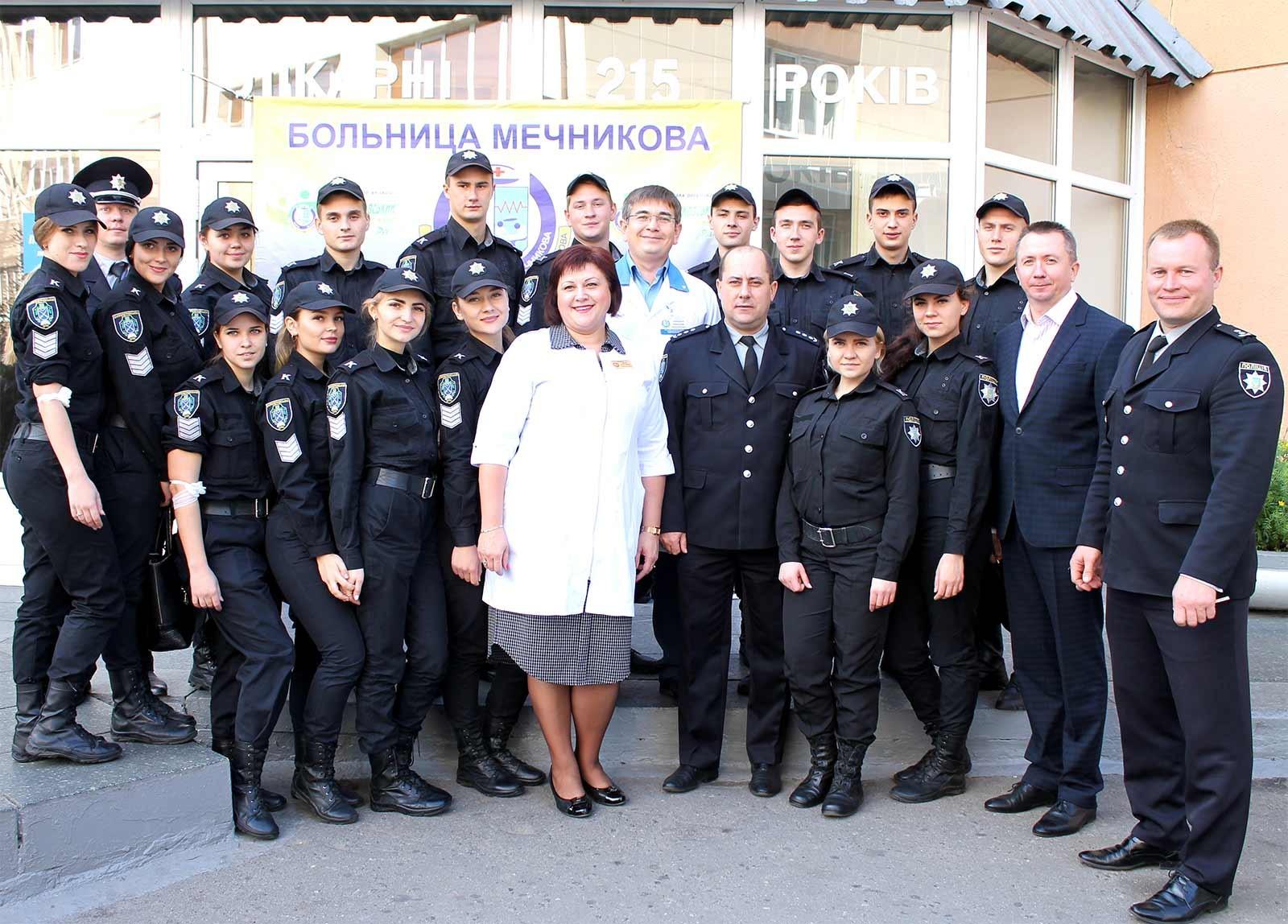 Курсанти ДДУВС долучилися до акції «Подаруй життя герою»