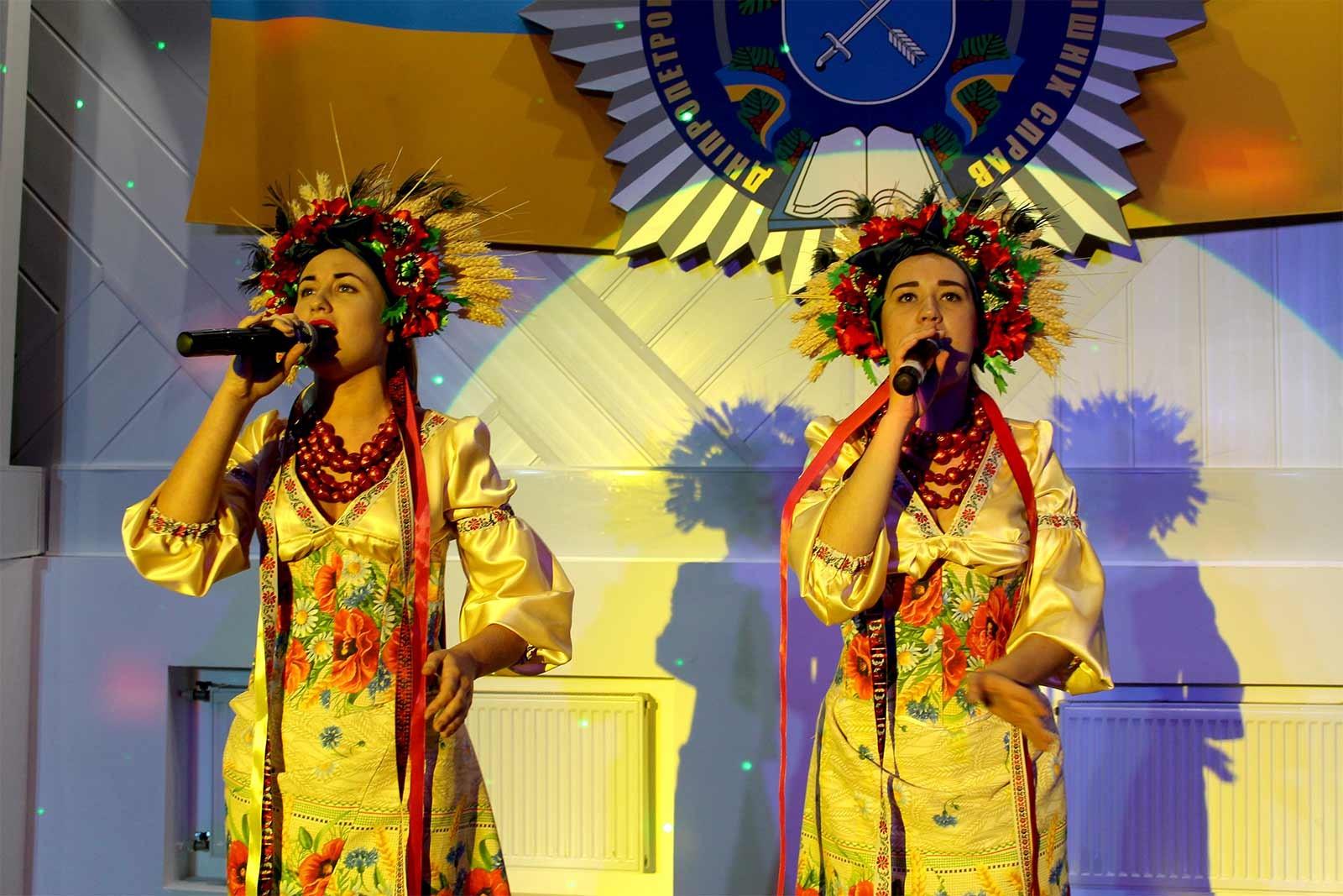 Співали заслужений діяч мистецтв України – Олег Рудий та творчий колектив ДДУВС
