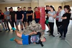 КОРДівці продемонстрували ряд тактичних і вогневих вправ