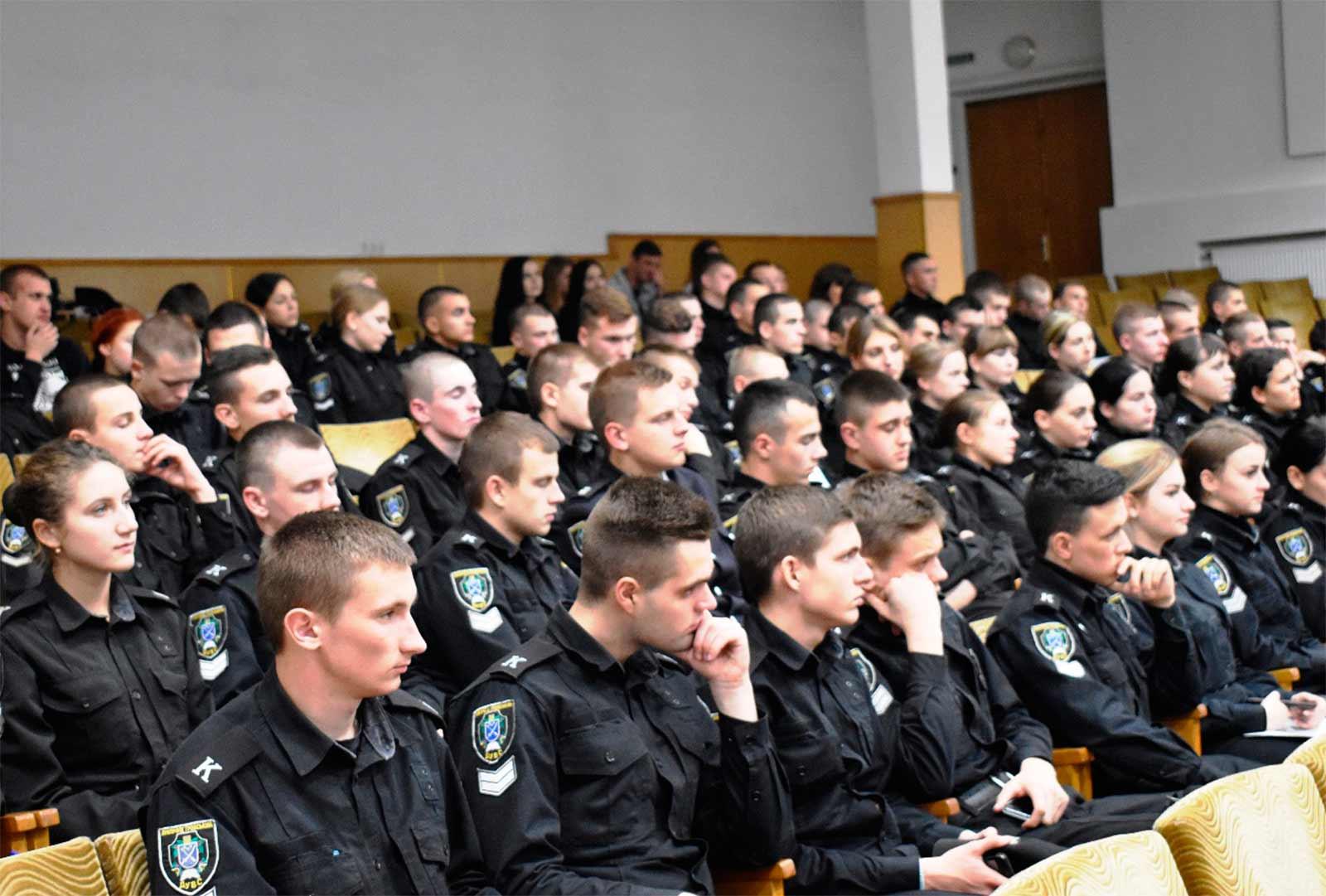Студенти та курсанти Дніпропетровського державного університету внутрішніх справ