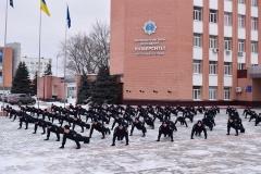Підтримай захисника України – курсанти ДДУВС перейняли флешмоб 22PushupChallenge