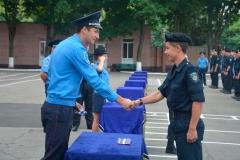 250 новобранців ДДУВС одержали курсантські погони!