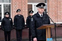 Багатотисячний колектив навчального закладу привітав ректор полковник поліції Андрій Фоменко