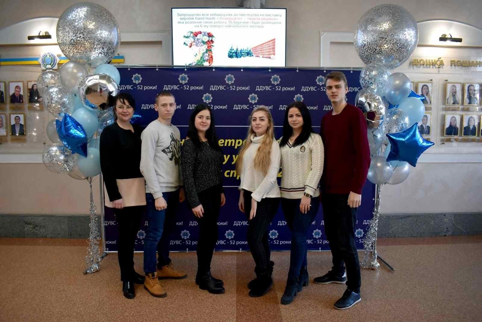 Дніпропетровському державному університету внутрішніх справ  52 роки!