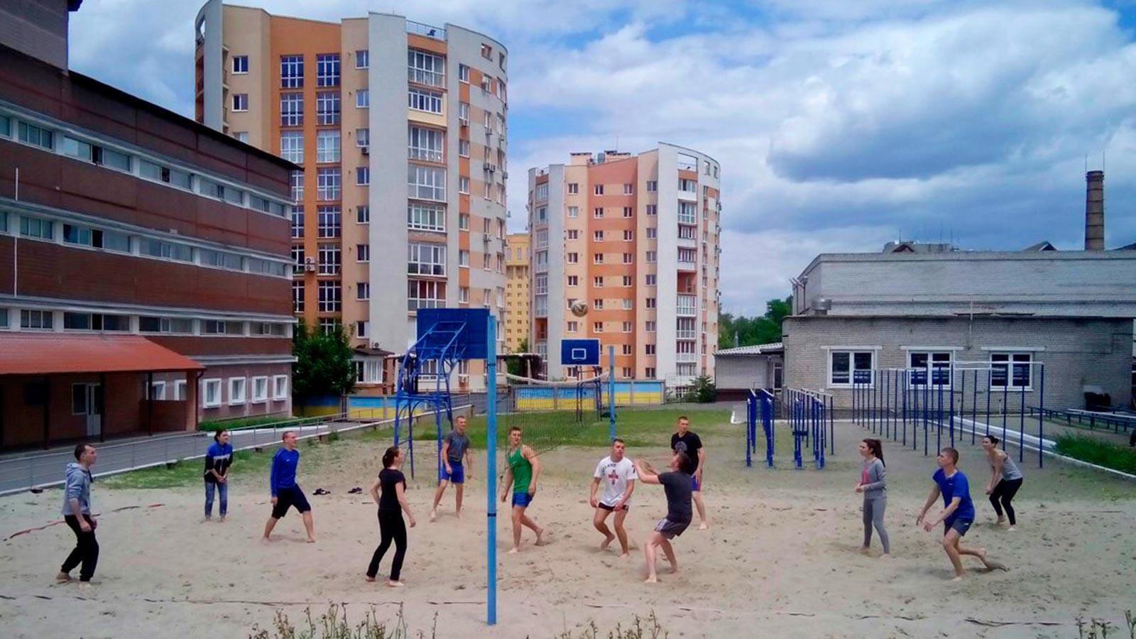У ДДУВС пройшли змагання з волейболу