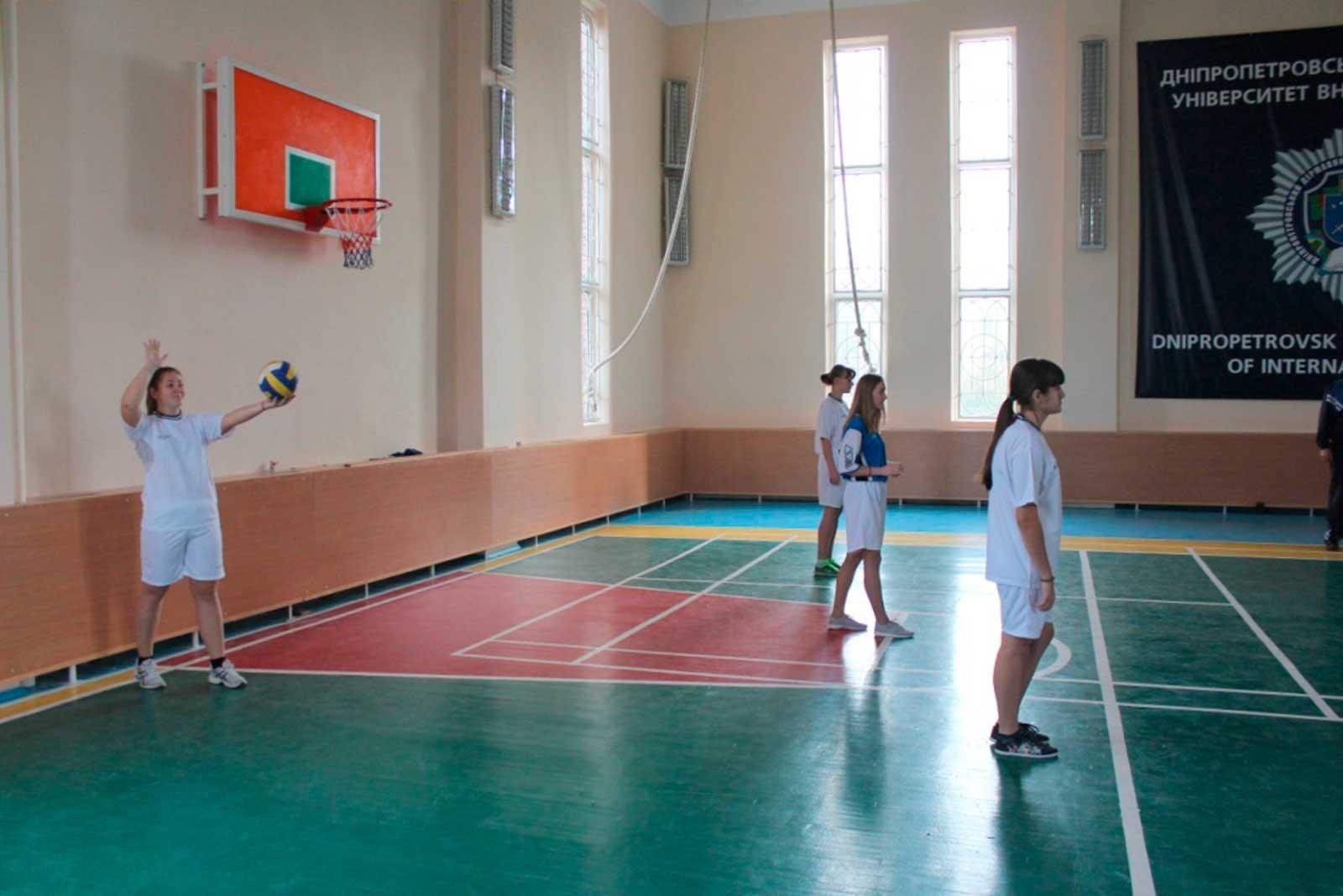 Першість юридичного факультету ДДУВС з волейболу (2016 рік)