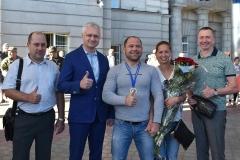 Титул Чемпіона Європи здобув т.в.о декана ФПФПКП Сергій Балабан.