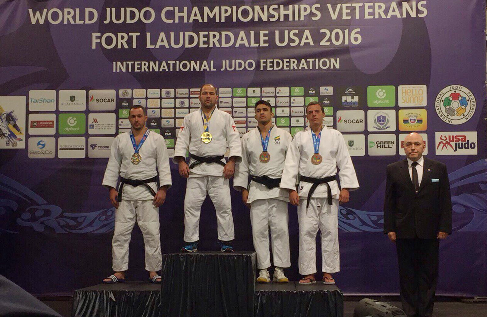 Завідувач кафедри Дніпропетровського державного університету внутрішніх справ Сергій Балабан став чемпіоном світу з дзюдо