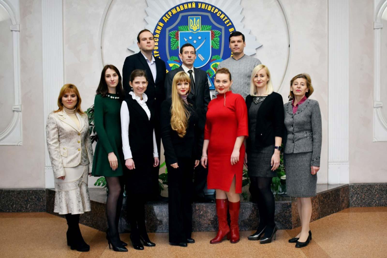 Колектив кафедри цивільно-правових дисциплін ДДУВС