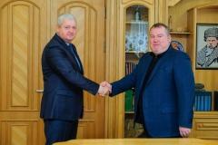 Валентин Резніченко та Віталій Глуховеря підписали Меморандум про співпрацю та взаємодію