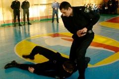 Курсанти ДДУВС продемонстрували застосування спеціальних засобів та тактики самозахисту