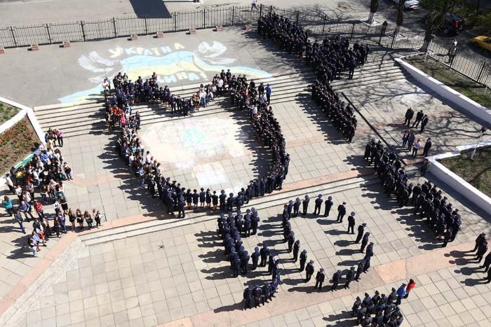 Флешмоб «Україна єдина»