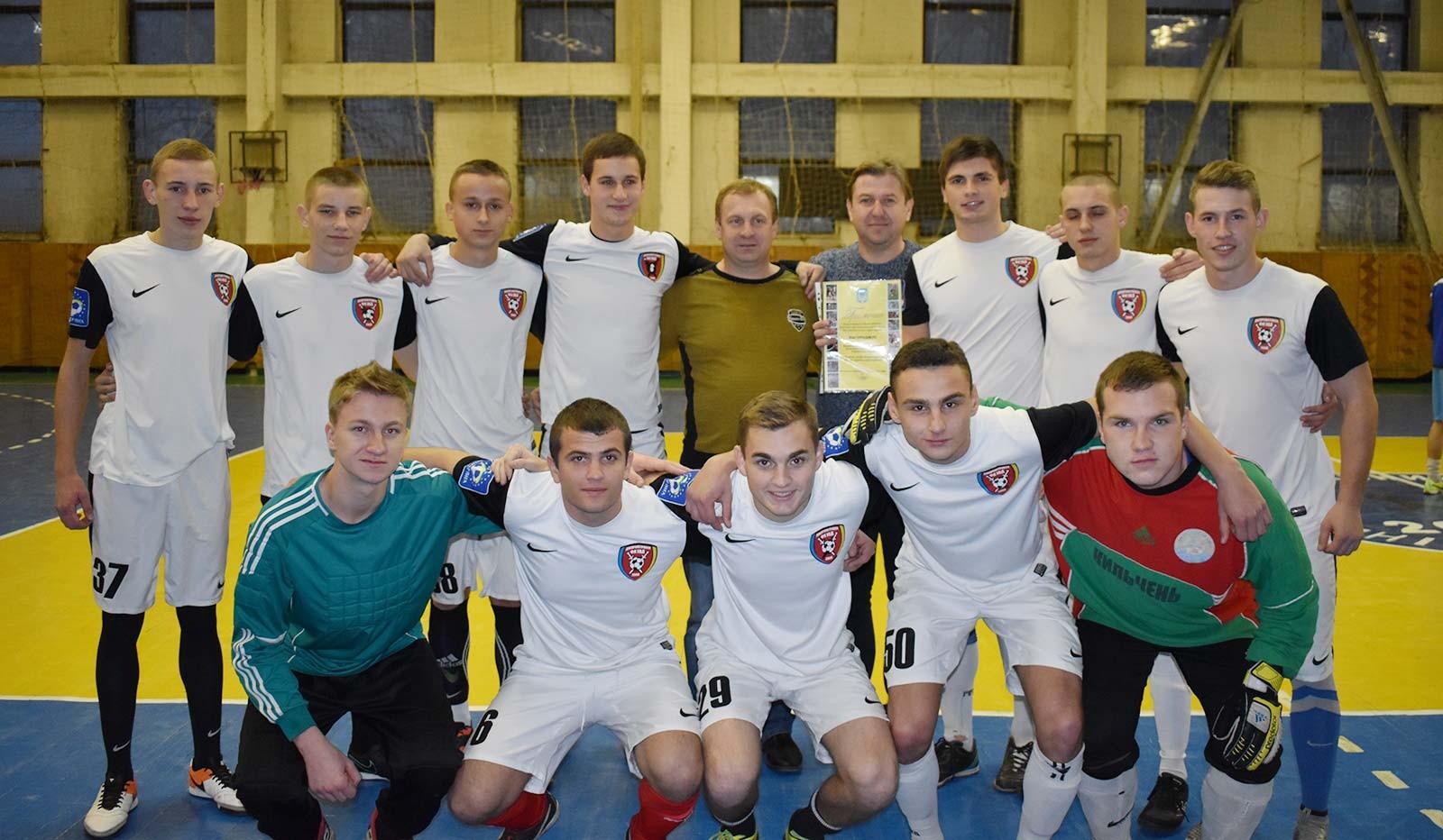 Університетська збірна з футболу посіла третє місце.