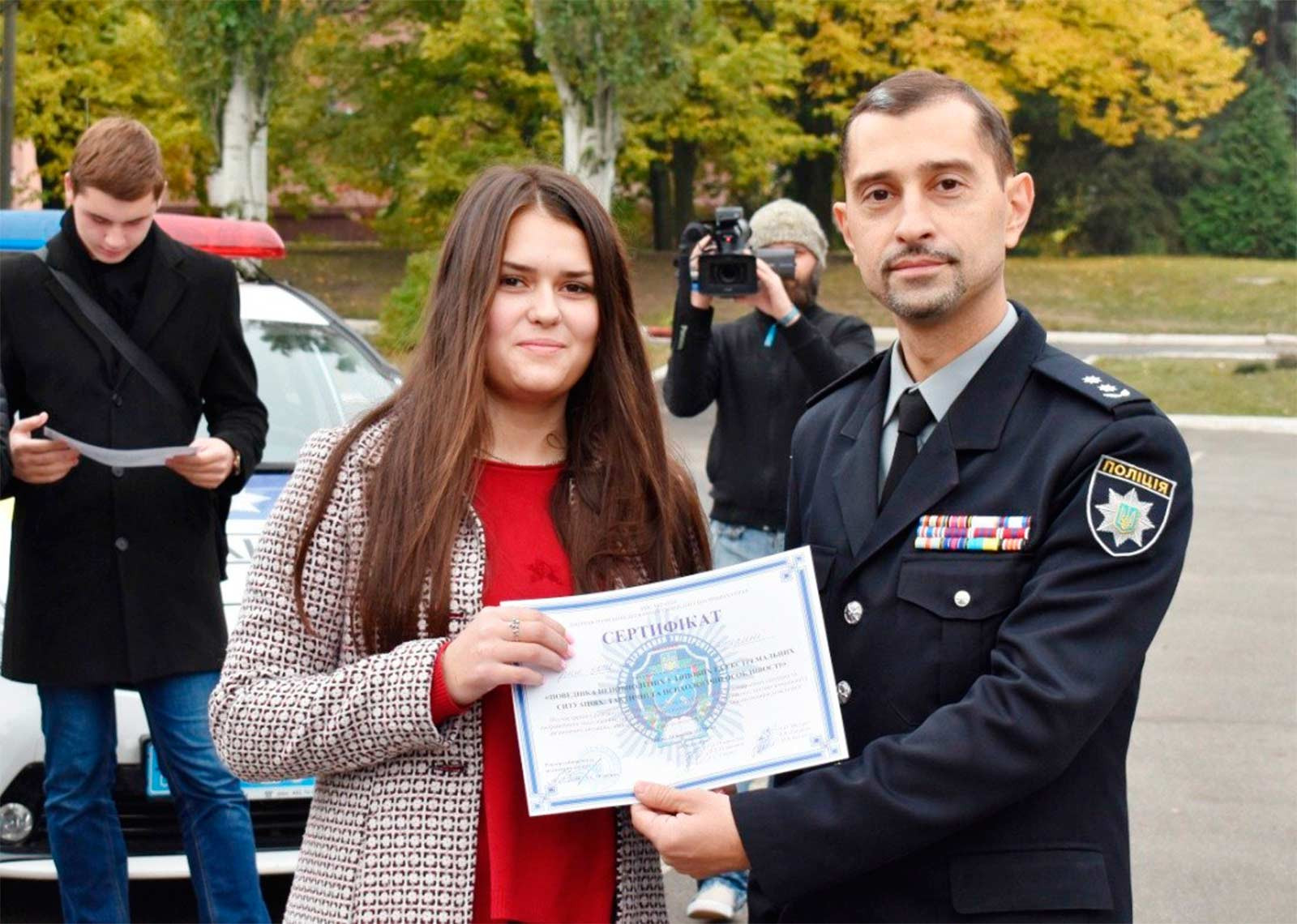 Андрій Собакарь вручив учасникам сертифікати