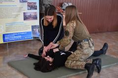 Ганна Островська провела для дітей практичне заняття