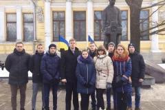 Курсанти та студенти ДДУВС вшанували пам'ять загиблих героїв Крут