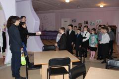 Студенти факультету завітали до вихованців навчально-реабілітаційних центрів м. Кривого Рогу із подарунками