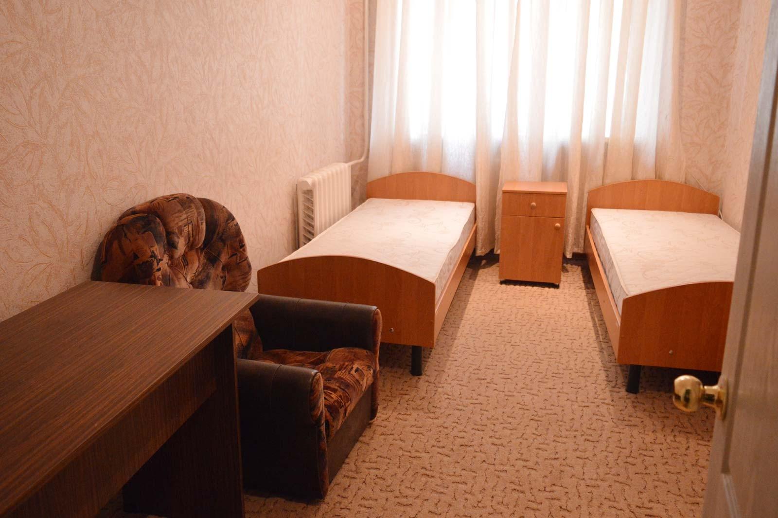 Комфортабельні гуртожитки готельного типу на Криворізькому факультеті ДДУВС