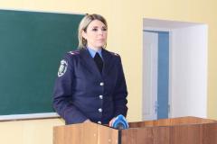 Начальник відділу Криворізького відділу поліції - Ольга Романова