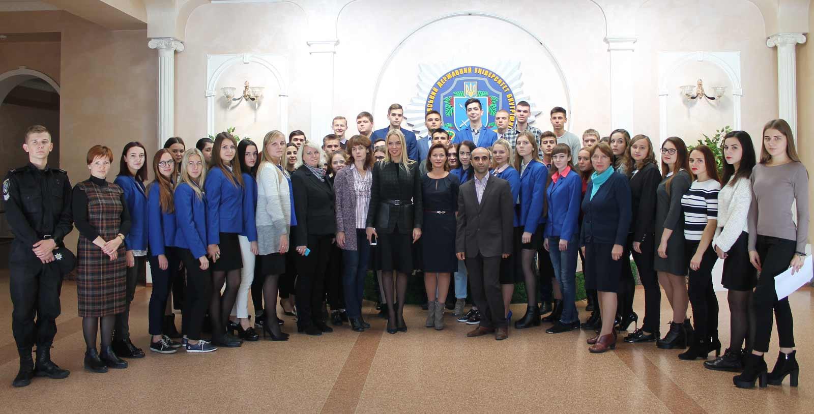 Захід присвячений Дню захисника України та Дню українського козацтва