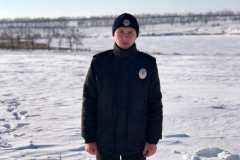 Курсант ДДУВС Артем Каверін разом зі своїми батьками врятували життя рибалкам, що провалилися під лід