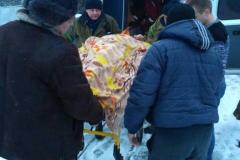 Курсант надавав постраждалому першу домедичну допомогу