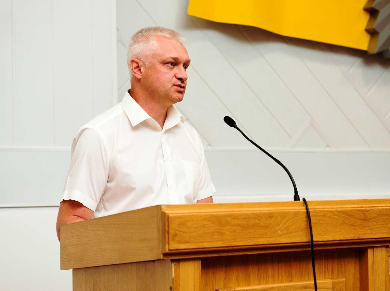 Т.в.о. ректора полковник поліції Андрій Фоменко