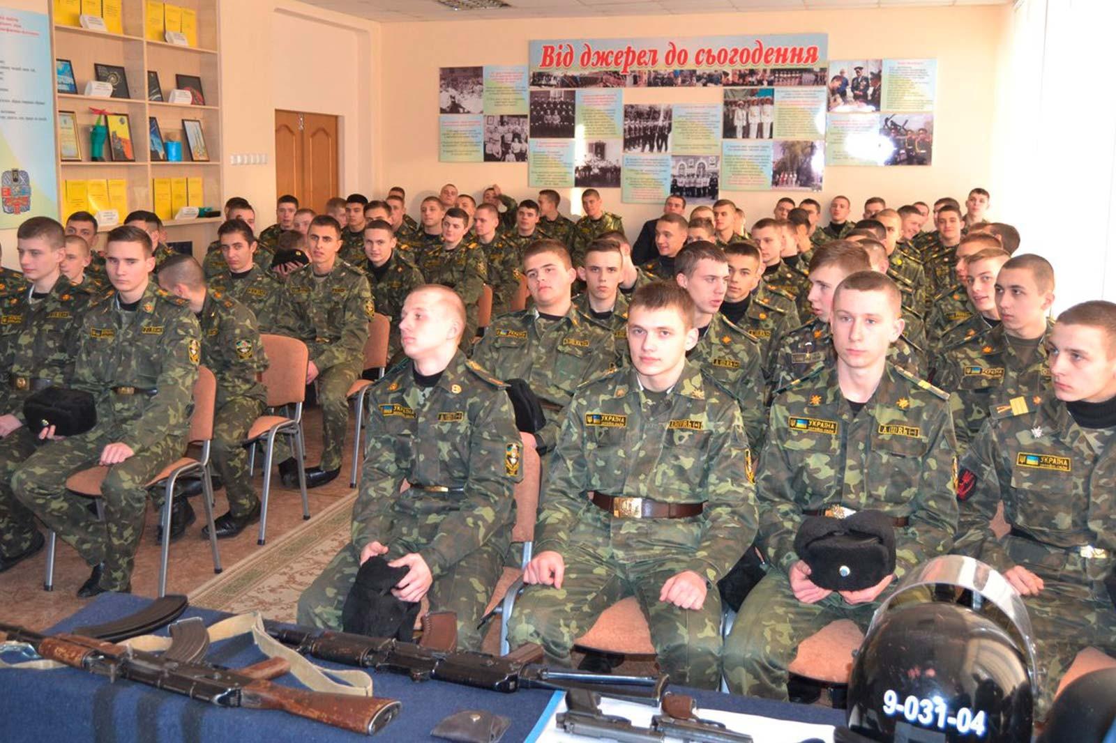 Студенти та викладачі Криворізького факультету завітали до ліцею-інтернату з посиленою військово-фізичною підготовкою