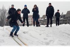 Вперше у ДДУВС пройшли змагання з лижних перегонів