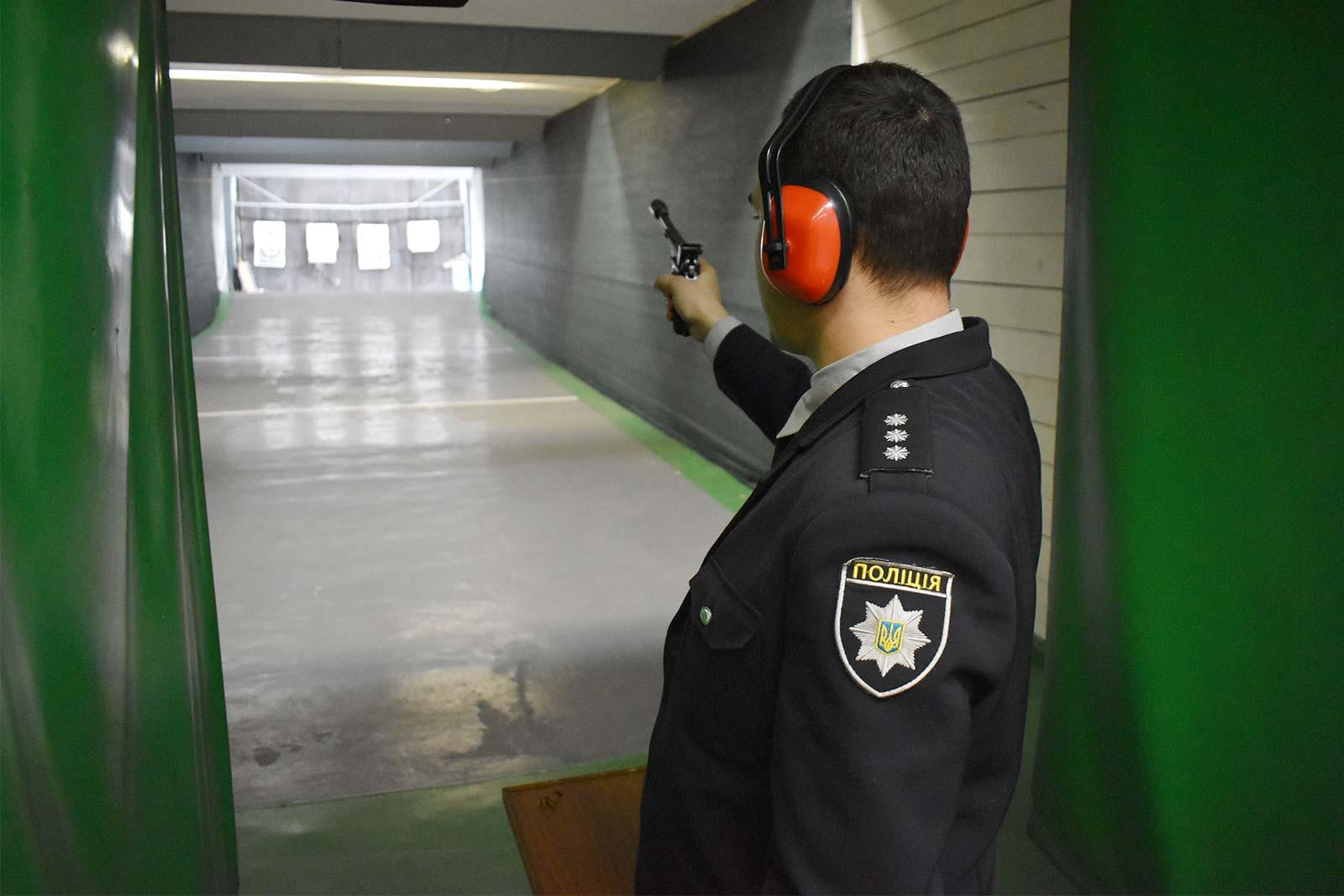 Першість зі стрільби з малокаліберної зброї у ДДУВС