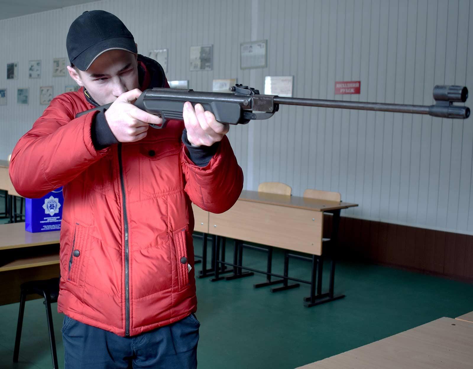 Тимофій Хижняк у Дніпропетровському державному університеті внутрішніх справ