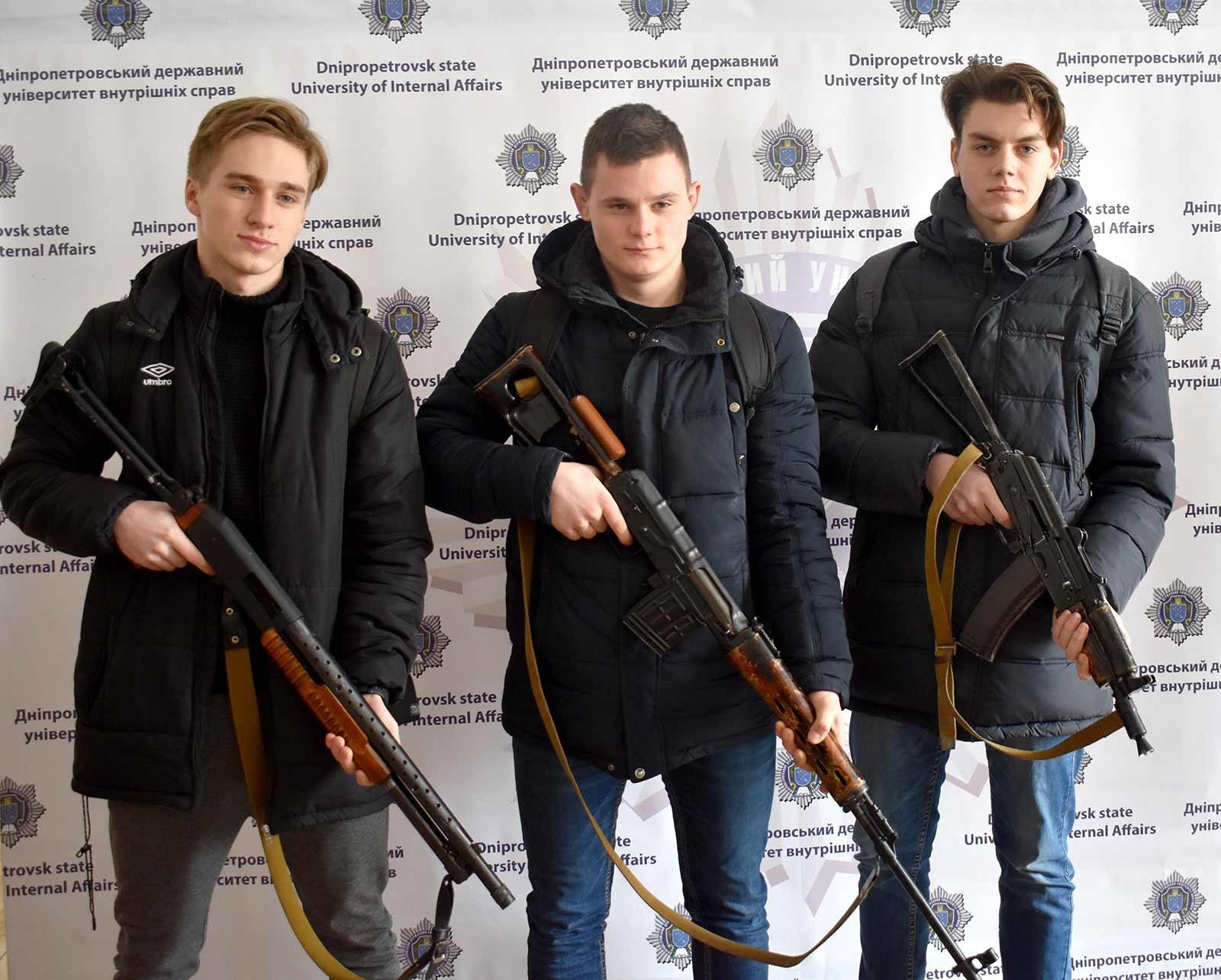 День відкритих дверей у Дніпропетровському державному університеті внутрішніх справ