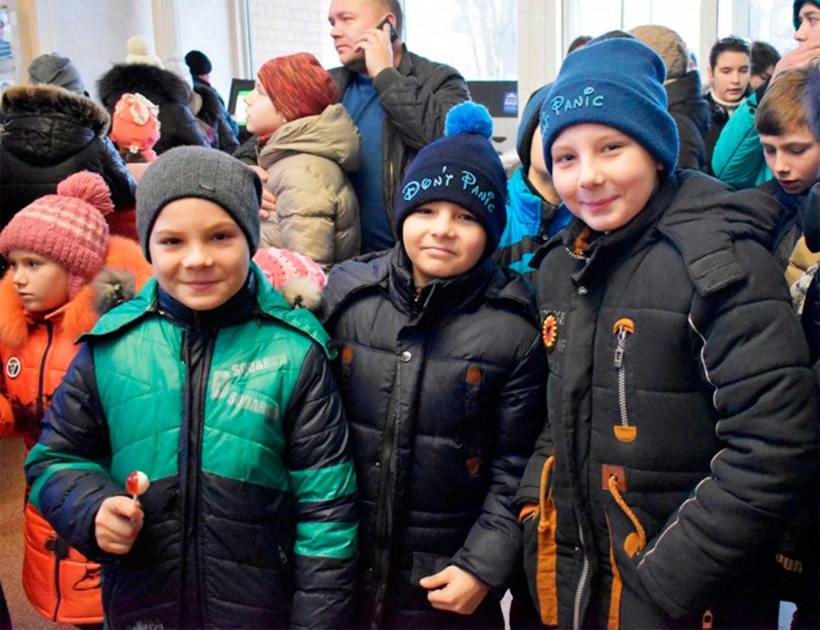 У День Cвятого Миколая до ДДУВС завітало більше 1000 дітей із різних куточків регіону