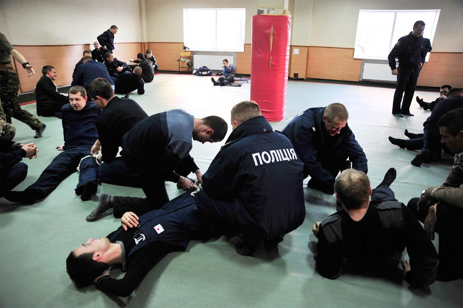 Навчально-тренувальне заняття з домедичної допомоги