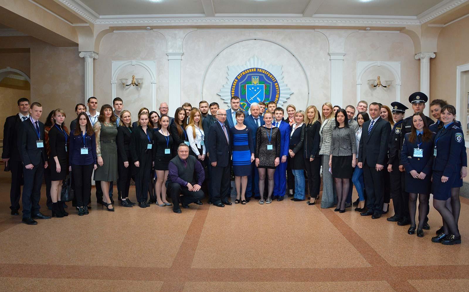 У Дніпропетровському державному університеті внутрішніх справ відбувся Міжнародний студентський саміт