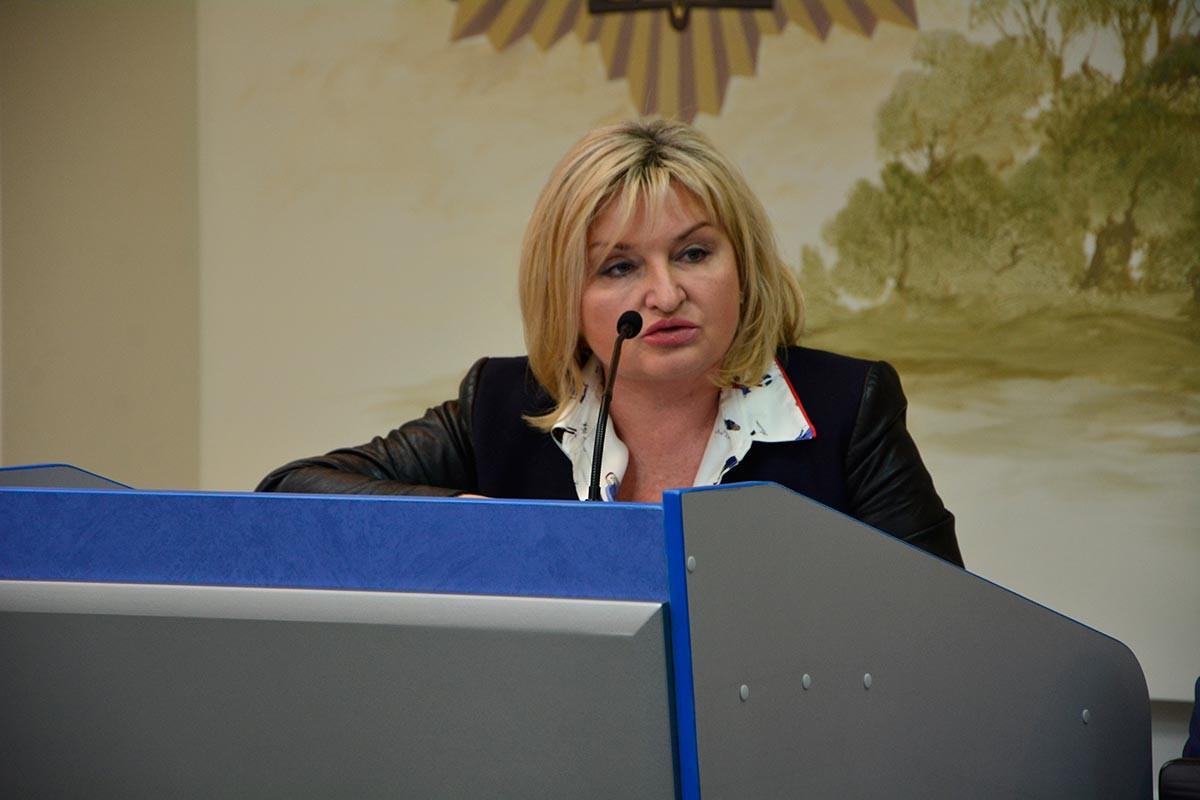 Майстер-клас, який провели народні депутати Верховної Ради України Ірина Луценко та Марія Іонова