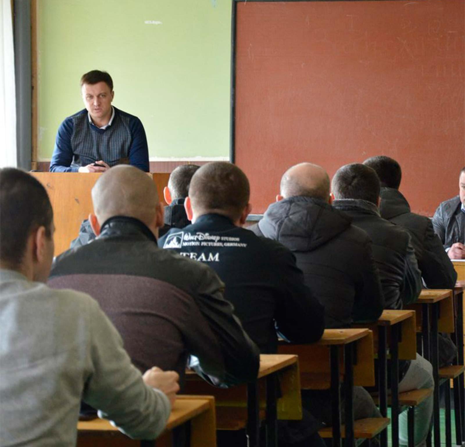 Т.в.о. першого проректора Дніпропетровського державного університету внутрішніх справ підполковник поліції Роман Кацуба